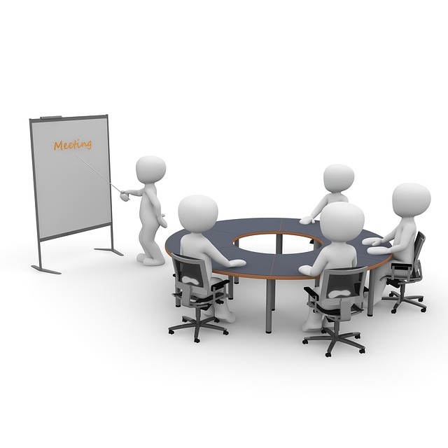 会社の業績を共有していますか?