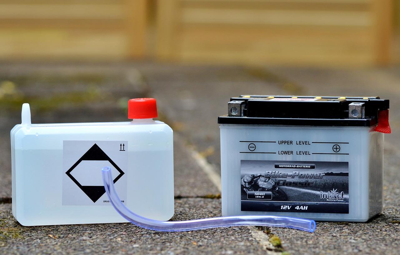バッテリーの盗難対策